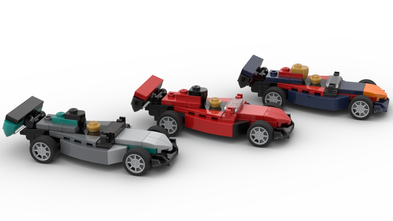 Lego Monthly Mini Model Build Race Car 40328 Speed Champions